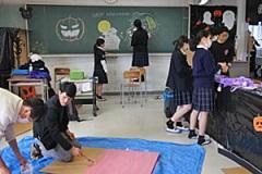 クラス発表の準備