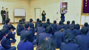 生徒会役員の報告